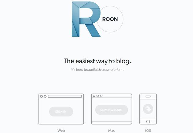 Roon, una alternativa sencilla para crear un blog gratuito