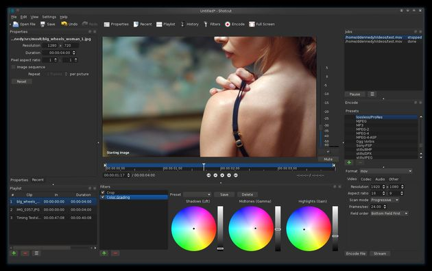 Shotcut Shotcut, un gran editor de vídeo multiplataforma y open source