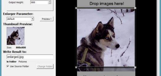 SmillaEnlarger, software para obtener imágenes ampliadas de calidad