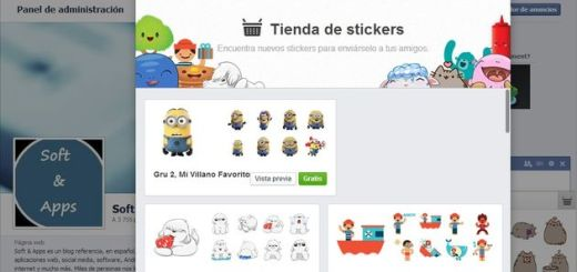 Ya han llegado los stickers al web chat de Facebook