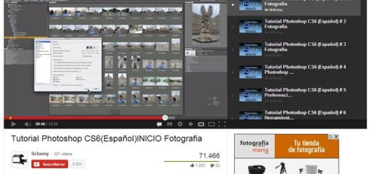 Vídeo tutorial gratis de Photoshop CS6