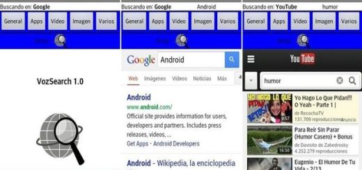 VozSearch, app Android con búsqueda por voz en 20 populares buscadores