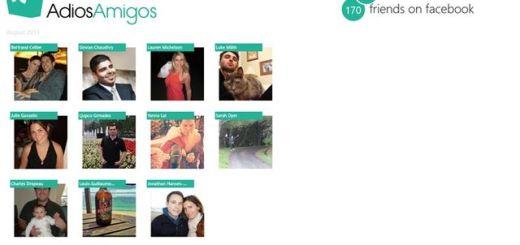 Adiós Amigos, app Windows 8 para conocer quién te elimina de Facebook