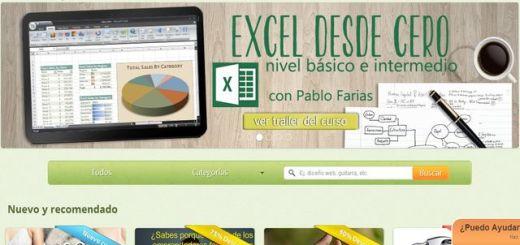 Cursopedia, la nueva y completa plataforma de vídeo cursos en español