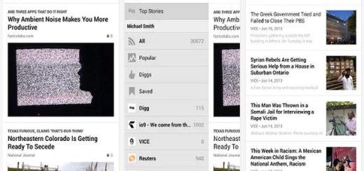 Digg Reader ya está disponible para dispositivos con Android