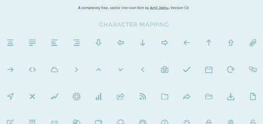 Dripicons, colección de más de 90 iconos gratis en múltiples formatos