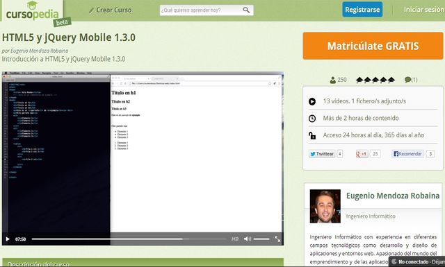HTML5 y jQuery Mobile