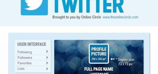 Infografía con las dimensiones de todas las imágenes de Twitter