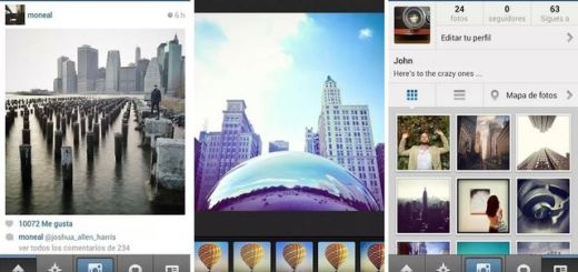 Actualización de Instagram para Android soporta vídeos pregrabados
