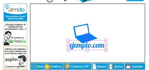 LogotipoGratis, utilidad web gratuita para crear sencillos logotipos