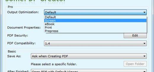 SomePDF Creator, convierte cualquier documento imprimible en PDF