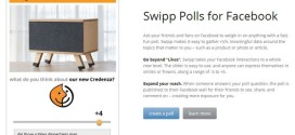 Swipp Polls for Facebook, crea encuestas para tu Fan Page de Facebook