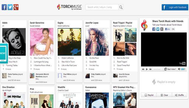 TorchMusic: una nueva forma de descubrir, escuchar y compartir música