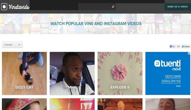 Vinstavids, descubre los vídeos más populares de Vine e Instagram