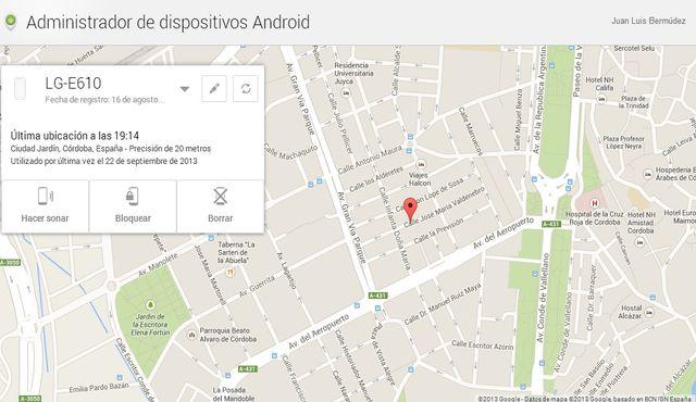 Android Device Manager incluye función de bloqueo remoto del teléfono