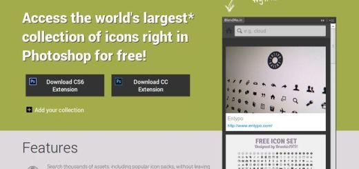 BlendMe: plugin Photoshop con miles de vectores, gráficos y recursos