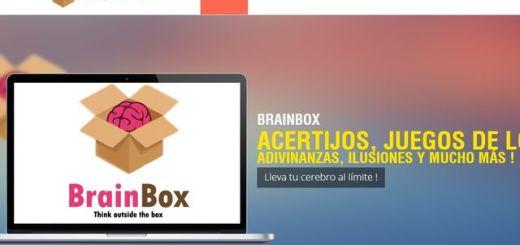 BrainBox, selección de juegos y problemas para entrenar el cerebro