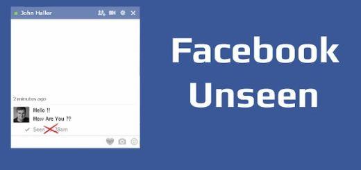 Facebook Unseen, oculta si viste los mensajes en Facebook con Chrome