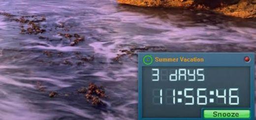 Free Countdown Timer: software con cuenta atrás, alarma y recordatorio