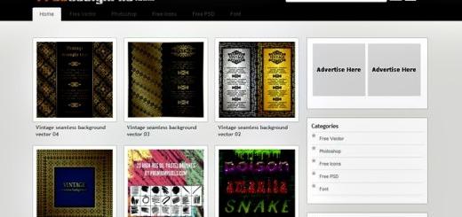 Freedesignfile, todo tipo de recursos gratuitos para diseñadores