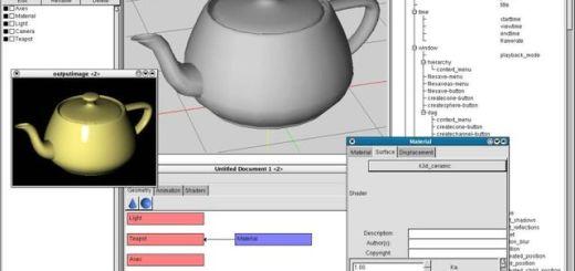 K-3D, software libre y multiplataforma para modelado y animación 3D
