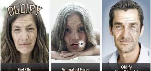 Oldify, app Android para ver el envejecimiento de cualquier rostro