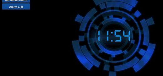Online Music Alarm Clock, una práctica alarma o despertador en línea