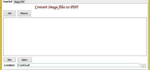 PDF Manager, sofware gratis para convertir imágenes a documento PDF