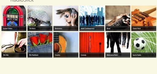 RadioSlick, app Windows 8 para acceder a más de 5000 radios online