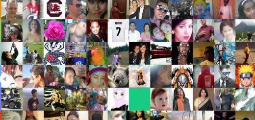 The Faces of Facebook, los rostros de todos los usuarios de Facebook en una web