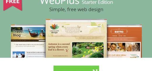 WebPlus Starter Edition, software gratis para diseño web sin HTML