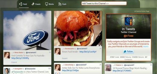 inTweets, genial plataforma para ver tweets por canales temáticos