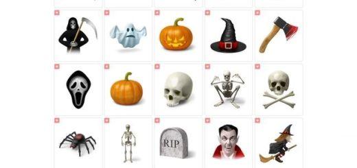 Desktop Halloween Icons, colección variada y gratuita de iconos de Halloween