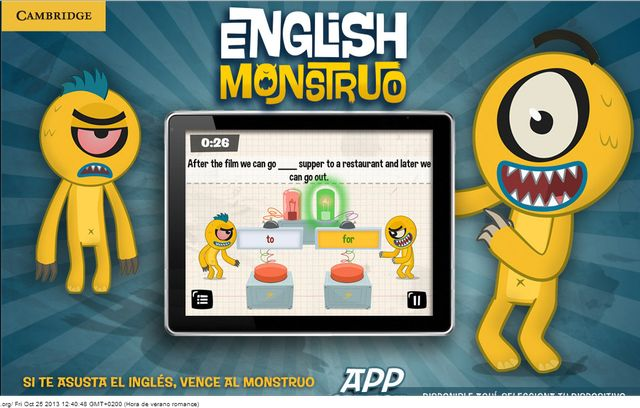 English Monstruo English Monstruo, vence al monstruo y aprende inglés en Android e iOS