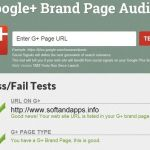 Google Plus Brand Page Audit