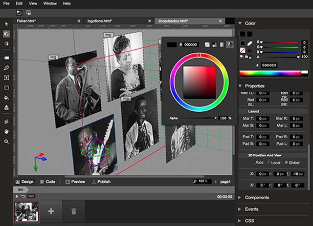 Web Designer Software Mac