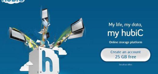 Hubic, nueva plataforma de almacenamiento online con 25 Gb gratuitos