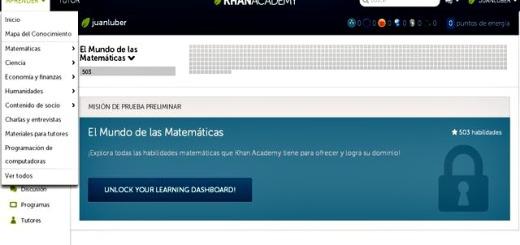 Khan Academy ahora en español con miles de tutoriales y recursos