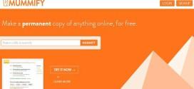 Mummify, momifica las webs y di adiós para siempre a los enlaces rotos