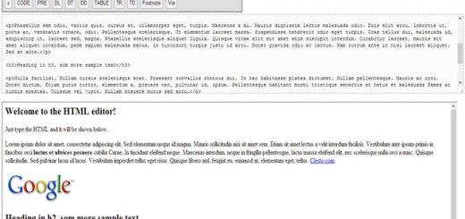 Online HTML Editor, un editor de código HTML online y gratuito