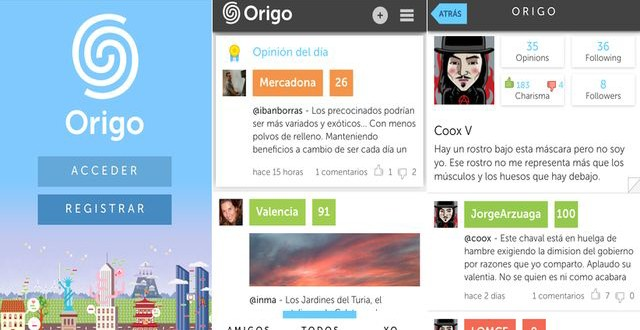 Origo, la innovadora red social de microbloging ya disponible en iOS