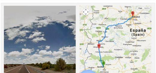 Streetview Player, recorrido virtual por rutas trazadas en Google Maps