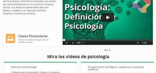 Nuevo canal de vídeos educativos sobre psicología en Educatina