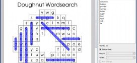 Word Search Creator, un software libre para crear sopas de letras
