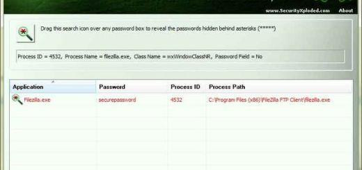 Asterisk Password Spy, recuerda contraseñas ocultas bajo asteriscos