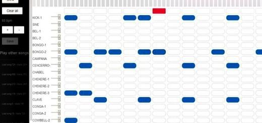 Caja de ritmos en HTML5 para componer y compartir melodías