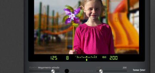 CameraSim: simulador online para practicar fotografía