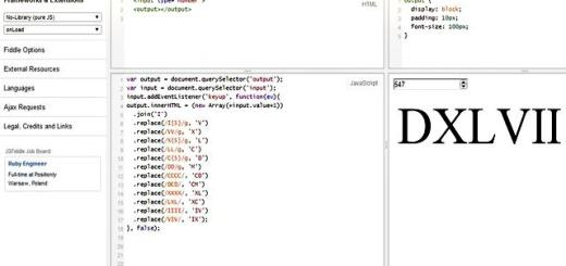 Convierte números a números romanos con esta app en JavaScript