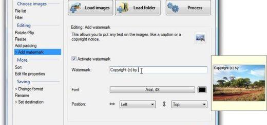 Easy Image Modifier, software gratuito para edición de imágenes o lotes