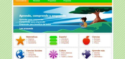 Encicloabierta, plataforma educativa gratuita para estudiantes